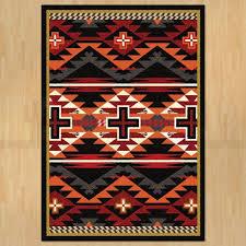8ft x 11ft 92in x 129in rustic cross area rug number 202634