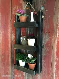 hanging basket planter stand outdoor hanging plant stand