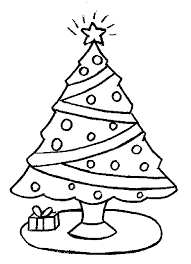 Small Picture christmas tree coloring sheets for kids Coloring Point
