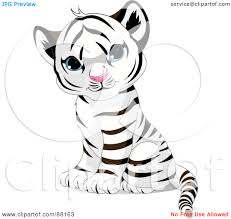 Coloring Pages Of Cute Baby Tigers