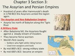 King Cyrus And King Darius Venn Diagram Ppt Chapter 3 Section 3 The Assyrian And Persian Empires