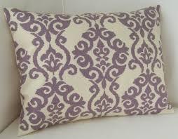 Etsy Throw Pillows Lilac Purple Pillow Cover Lumbar Pillow Decorative Pillow