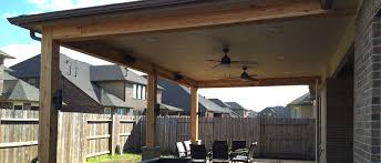 Pros Cons of Wood Framed Patio Covers Houston TX
