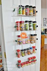 How To Build A Spice Rack Stunning 60 DIY Spice Rack Ideas To Update Your Kitchen DIY Crafts