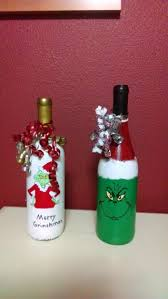 Handmade Christmas Crafts  15 Ways To Recycle Glass BottlesWine Bottle Christmas Crafts
