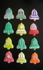 christmas bell sugar cookies. Modren Bell Cookie Decorating When Making Sweets Becomes Art  Christmas Intended For  Bell Sugar Cookies To S