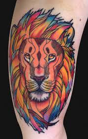 татуировка лев значение эскизы фото и видео Infotattoo