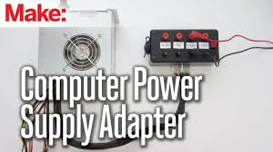 Computer Power Supply Chart Turn A Computer Power Supply Into Bench Power Make