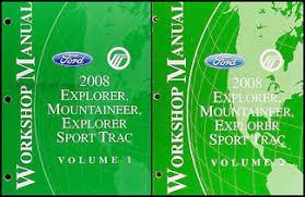 2008 ford explorer mercury mountaineer wiring diagram manual original 2008 ford explorer mercury mountaineer repair shop manual set original 159 00