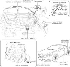 mazda 6 airbag wiring diagram mazda wiring diagrams wiring diagram