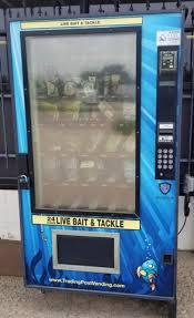 Bait Vending Machine Locations Classy Bait Vending Machine NexTech Classifieds