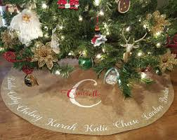 Etsy  Your Place To Buy And Sell All Things HandmadeChristmas Tree Skirt Clearance