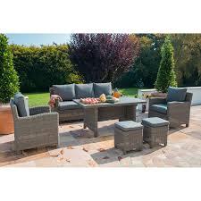 kettler palma sofa set rattan incl slat table image 1