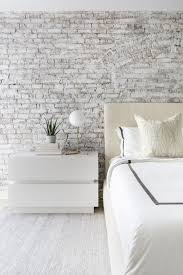 white washed brick wall simple orb