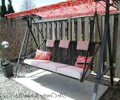 Splendent Image Outdoor Swing Cushion Outdoor Swing Cushions Then