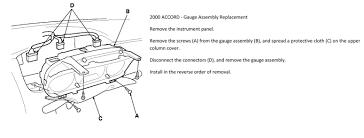 2000 Honda Accord Instrument Panel Lights Dash Lights Not Working Honda Accord Forum Honda Accord
