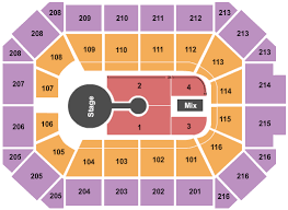 Allstate Arena Seating Chart Rosemont