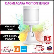 <b>Xiaomi Aqara Motion</b> Sensor Body Human Sensors Light Movement ...