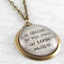 best utah shakespeare festival images twelfth  glass necklace if music be the food of love play on literary quote william shakespeare s twelfth night
