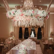 11 fl chandeliers that will wow at your wedding
