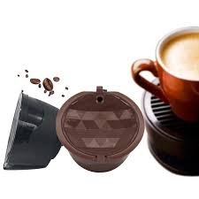 Prepare the perfect cup of coffee for yourself and your family in the comfort of your home by getting the nescafe black travel kit instant coffee. Capsule Pods Refillable Coffee Filter Cup Replacement For Dolce Gusto Nescafe Buy From 2 On Joom E Commerce Platform