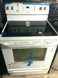 electric glass top stove range replacement frigidaire ceramic cooktop g