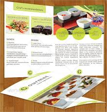 Catering Menu Templates Free Catering Brochure Templates Free Proppers Info