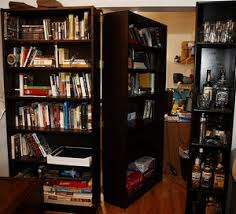home office bookshelf. While A Trick Bookshelf Is Pretty Awesome In Itself, This Secret Passage  Hides Home Office With Clever Style.