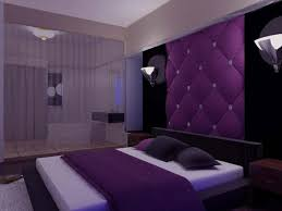Purple Bedroom Decor Elegant Lush Decoration Of Purple Bedroom Theme With  Tufted Background Also Bowl Wall