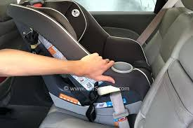 rear facing car seat install installing your sitecom convertible and behind the back on a forward