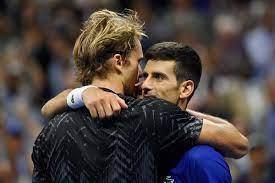 US Open: Das flüsterte Alexander Zverev zu Novak Djokovic am Netz