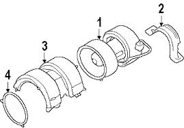 parts com® audi a8 quattro blower motor fan oem parts 2004 audi a8 quattro l v8 4 2 liter gas blower motor fan