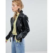 new look pu biker jacket women s leather jackets code1221167 ocoixamk3hnhox