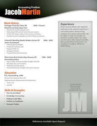 Free Resume Templates In Word | Free Resume Templates | Modern Resumes