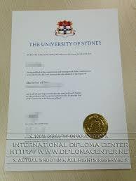Sample Degree Certificates Of Universities The University Of Sydney Diploma Degree Certificate