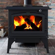 cleaning wood burning fireplace glass pleasant hearth lws sq ft medium wood burning stov on chimney