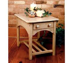 Farmhouse Country End Table Farmhouse And Cottage