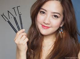 powerful women their eyeliners by kate tokyo bun bun makeup tips and beauty reviews