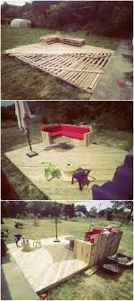 Decking Using Pallets Best 20 Pallet Patio Ideas On Pinterest Pallet Decking