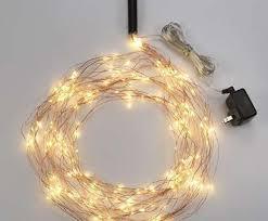 copper wire light fixture new 8ft multi strand copper wire plug in fairy