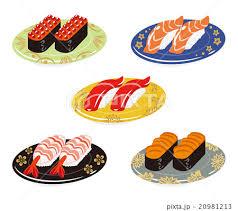 「回転寿司 イラスト」の画像検索結果