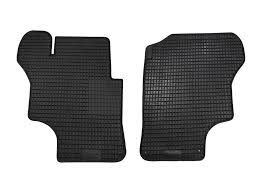 gowesty camper products parts supplier for vw vanagon eurovan rubber floor mats 2 piece front photo