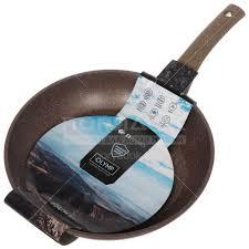 <b>Сковорода с мраморным покрытием</b> Daniks Гранит Олимп ...