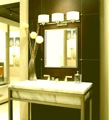 bathroom mirror lighting. Bathroom Mirror Lights Perth Captivating Lighting Over Standard Vanity Light Height Brown Wall And Lamps On Vase With Plant R