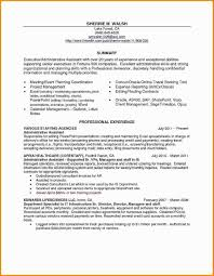 Online Resume Templates Examples Resume Samples For Hospitality