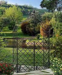 kiftsgate garden arch with garden gate