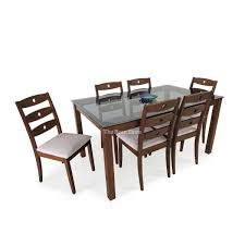 glass top for dining table india designs