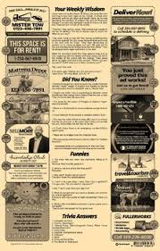 11x17 Newspaper Template 2 Page Newspaper Template Adobe Illustrator 11x17 Inch By