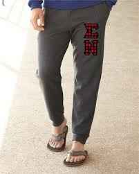 sigma nu lettered joggers 3 letters