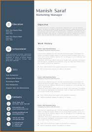 11 Cv Marketing Word Theorynpractice